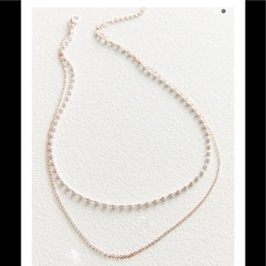 urban outfitters Stevie Delicate Double Necklace